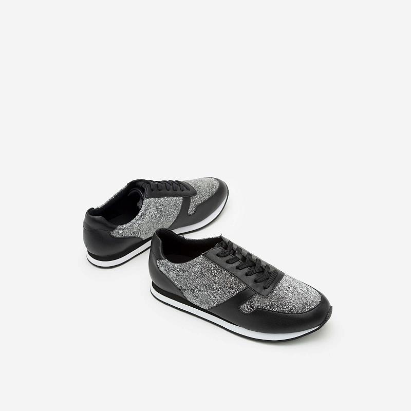 Giày Sneaker SNK 0001 – Màu Bạc