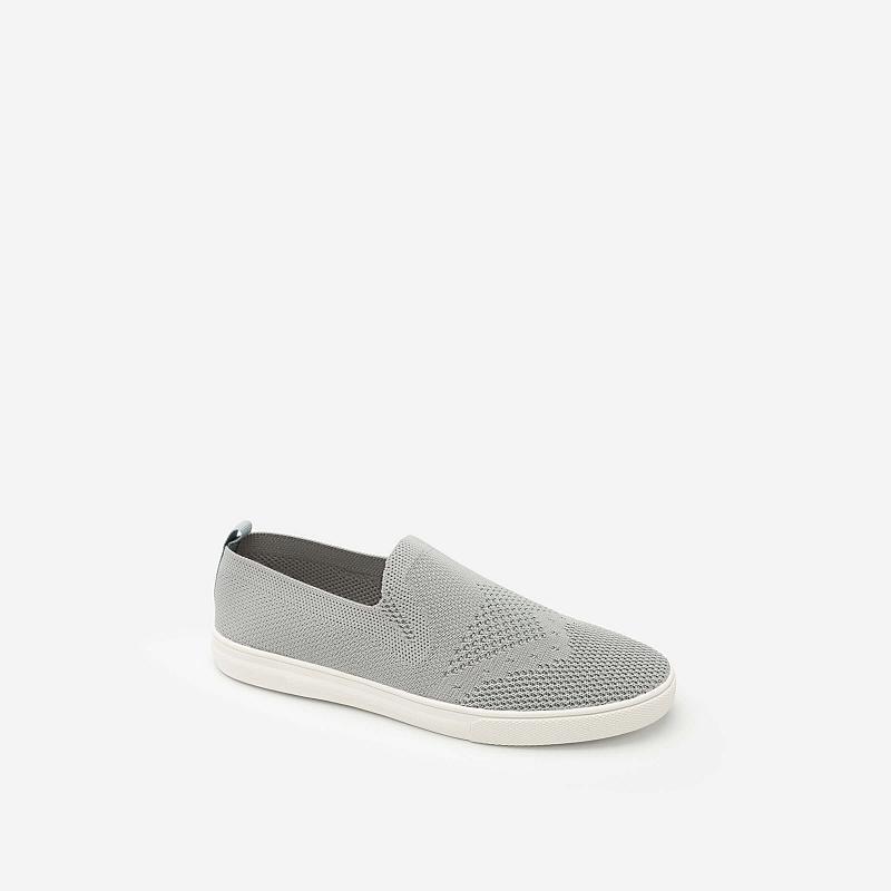 Giày Sneaker Vải Lưới – Màu Xám – SNK 0011