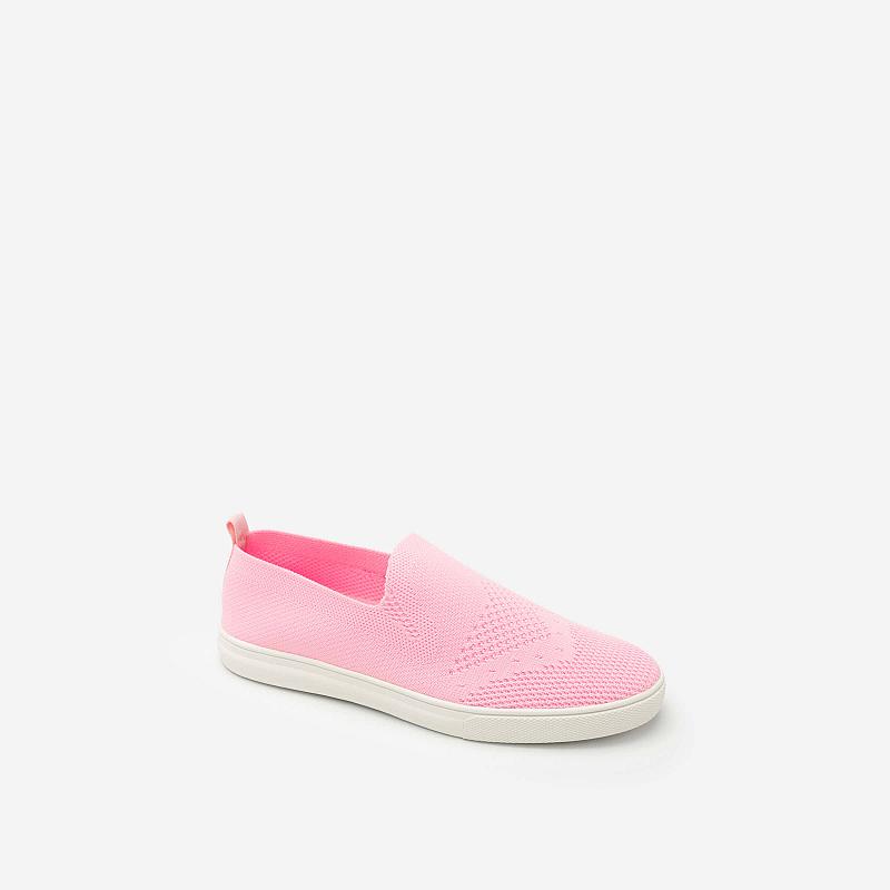 Giày Sneaker Vải Lưới – Màu Hồng – SNK 0011