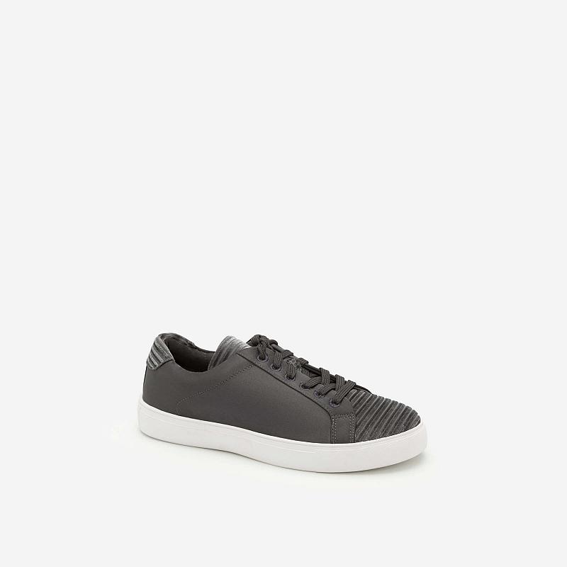 Giày Sneaker Cột Dây – SNK 0012 – Màu Xám
