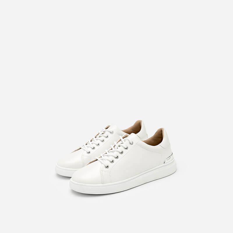 Giày Sneaker Buộc Dây – SNK 0018 – Màu Trắng