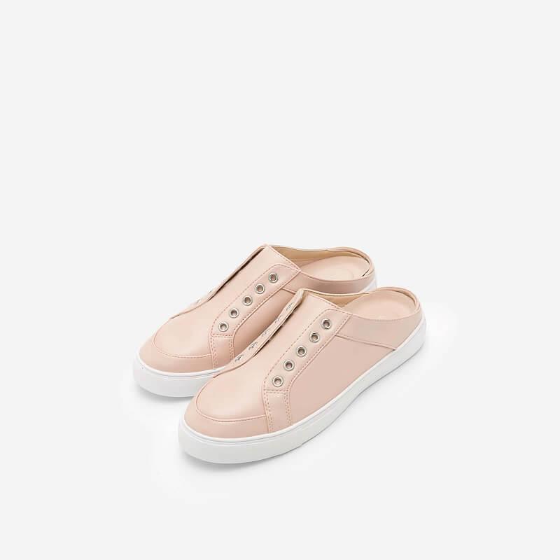 Giày Sneaker Hở Gót – SNK 0021 – Màu Hồng