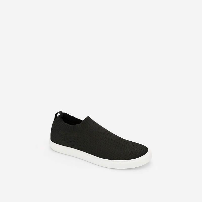 Giày Sneaker Phối Vải Mesh – SNK 0024 – Màu Đen