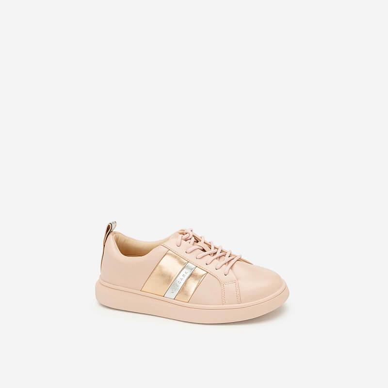 Giày Sneaker Phối Metallic – SNK 0031 – Màu Hồng