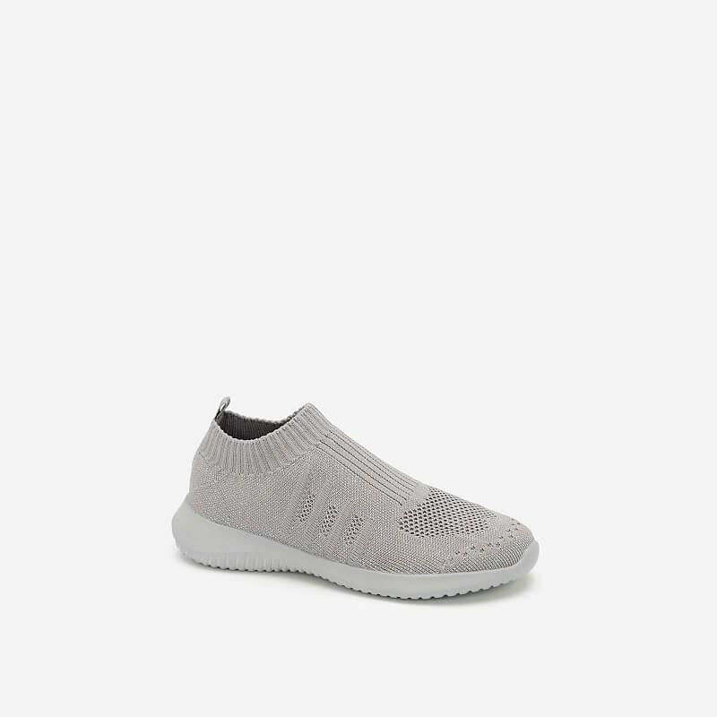 Giày Sneaker Vải Dệt LiteKnit – SNK 0030 – Màu Xám
