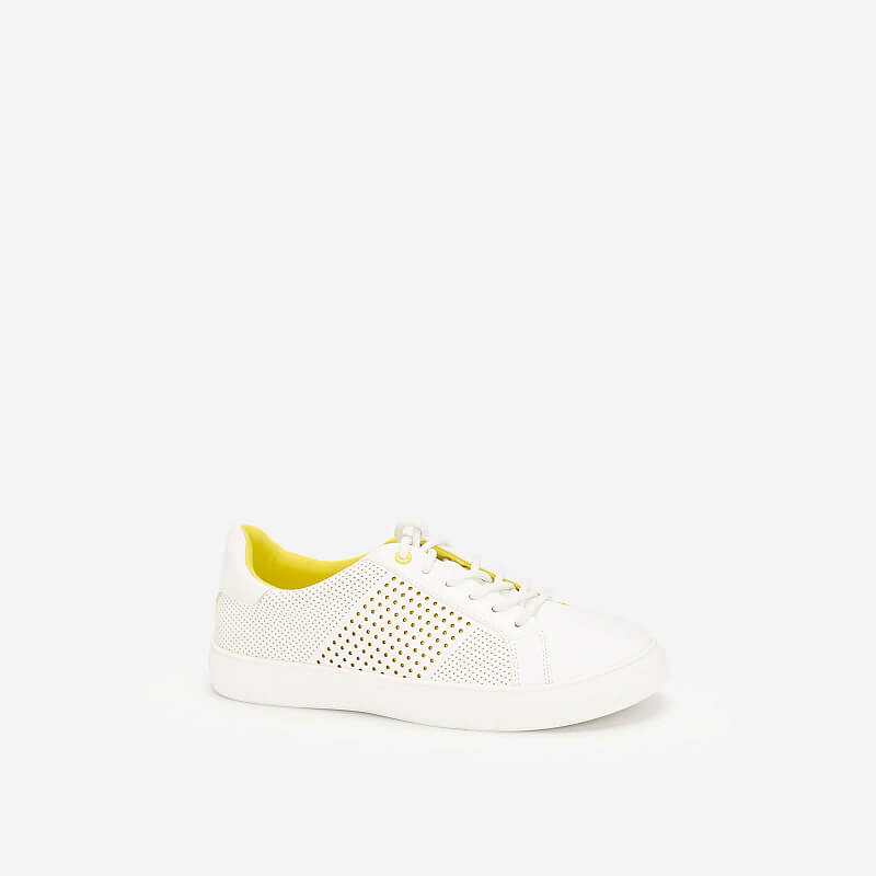 Giày Sneaker Neon Light – SNK 0032 – Màu Trắng