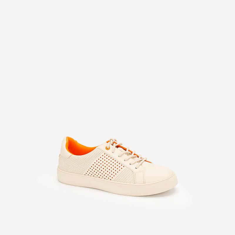 Giày Sneaker Neon Light – SNK 0032 – Màu Kem
