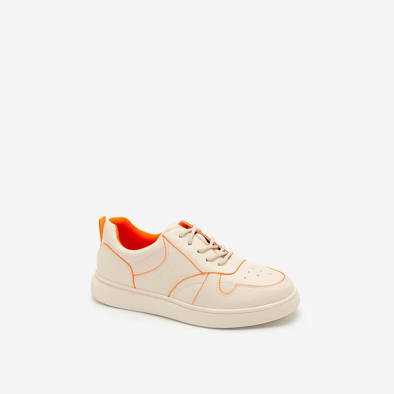 Giày Sneaker Neon Light 2 – SNK 0033 – Màu Kem