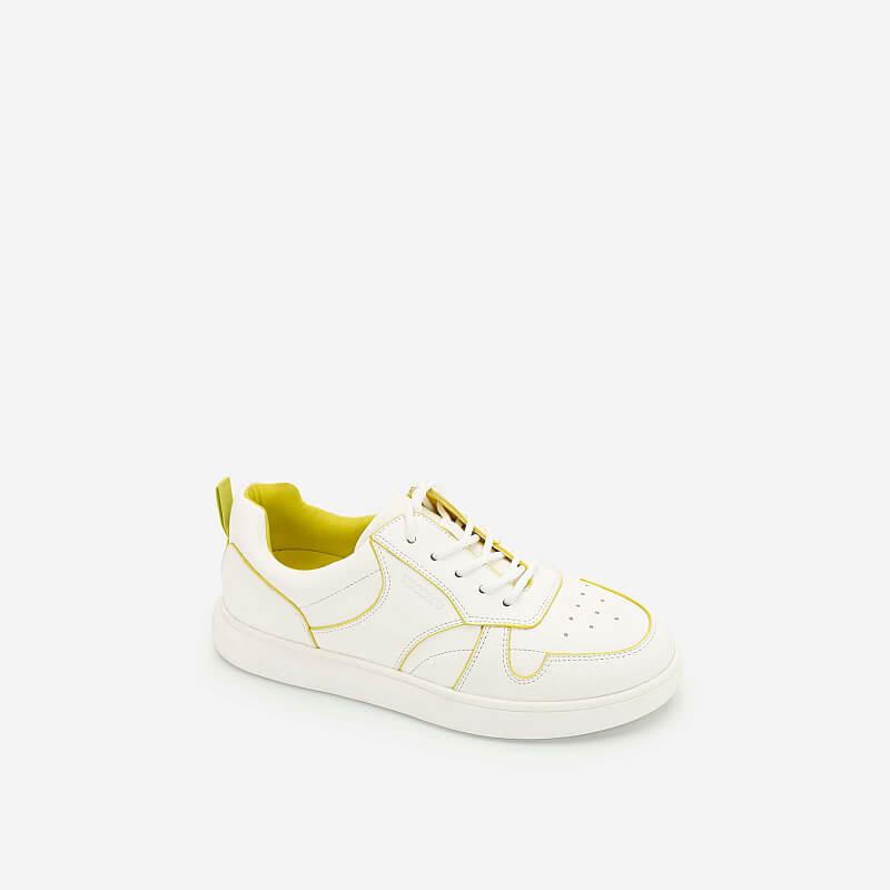 Giày Sneaker Neon Light 2 – SNK 0033 – Màu Trắng